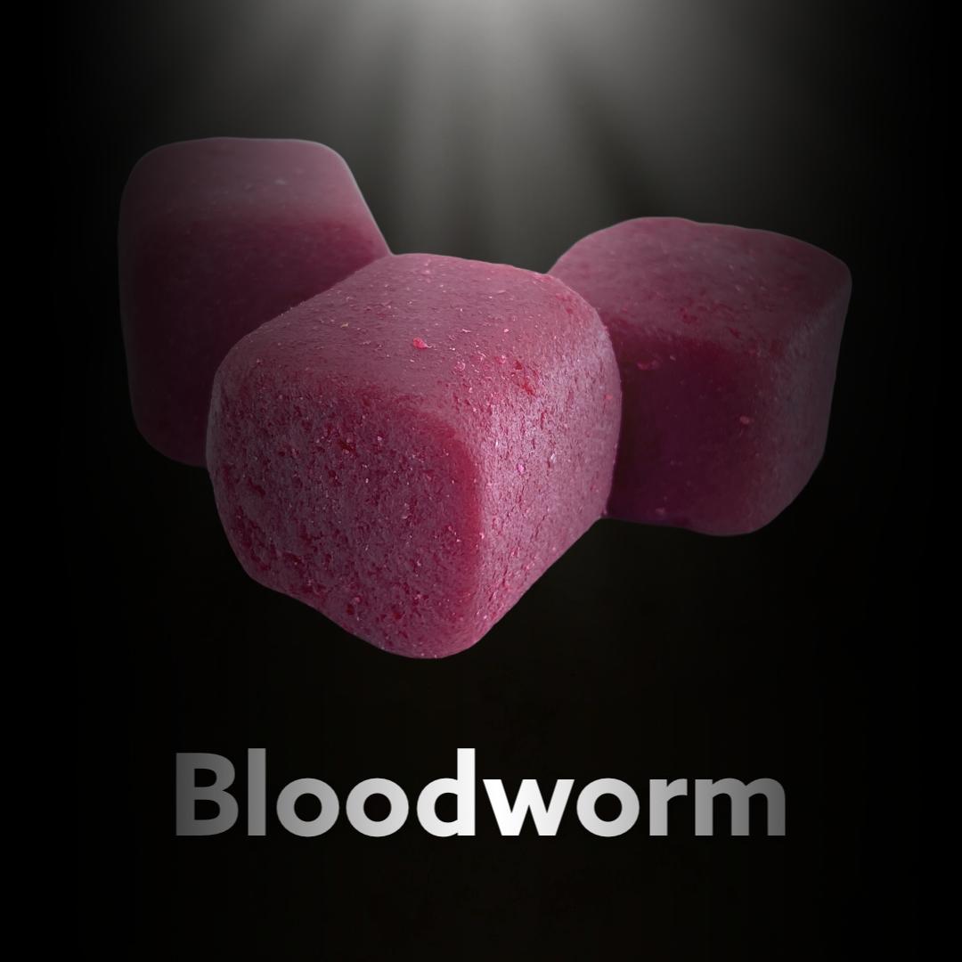 LK Baits CUC! Nugget Carp Bloodworm 17 mm, 1kg