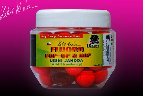 Fluoro Pop-up Wild Strawberry 14 mm(červená) + dip 150 ml