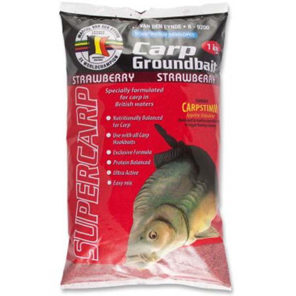 MVDE Carp Groundbait Strawberry (1kg)