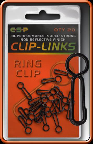 ESP Rýchloklip - Ring Clip - 20ks
