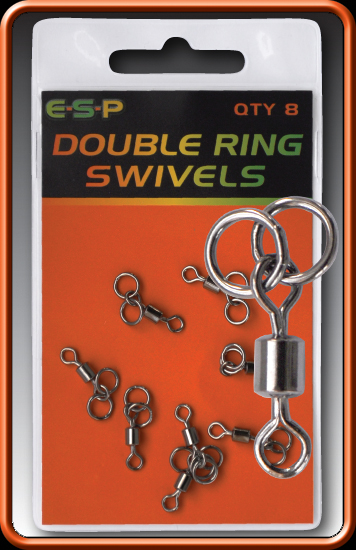 ESP Obratlíky - Double Ring Swivels - 8ks