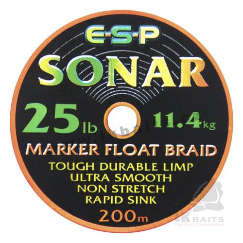 ESP Šnúra - Sonar Marker 25lb 200m