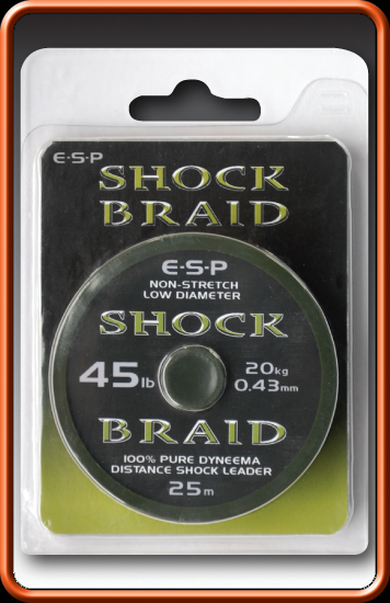 ESP Šoková šnúra - Shock braid - 45lb, 25m