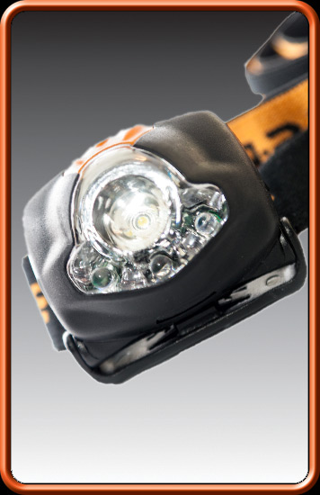 ESP Čelovka - Head torch Bank lamp