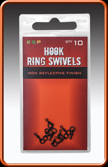 ESP Obratlík s krúžkom - Hook Ring Swivel - 10ks