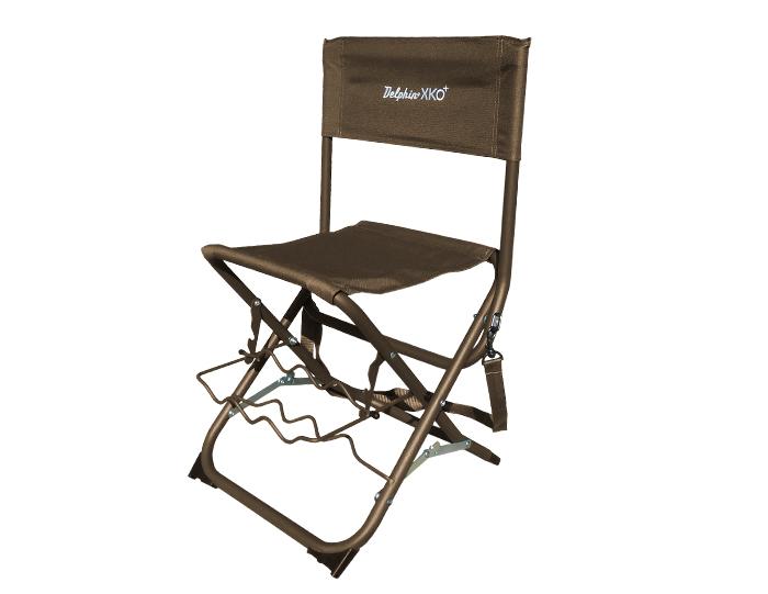 Delphin stolička XKO+ s držákem prutů