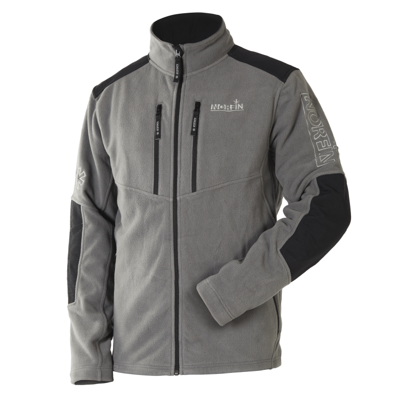 Norfin mikina Fleece Jacket Glacier Gray vel. XL