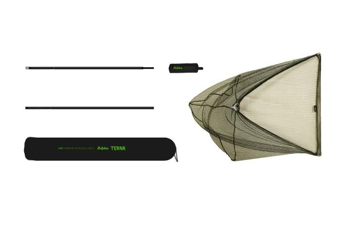 Delphin podběrák Terna 100x100cm, 1,8m