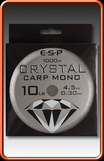 ESP Vlasec - CRYSTAL CARP MONO - 10lb 0,30mm 1000m