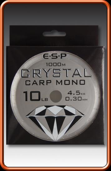 ESP Vlasec - CRYSTAL CARP MONO - 12lb 0,325mm 1000m