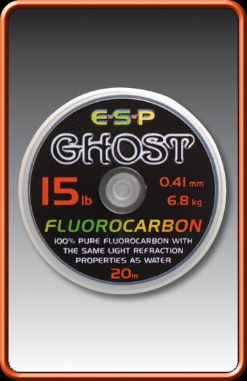 ESP Ghost Fluorocarbon - 10lb, 20m