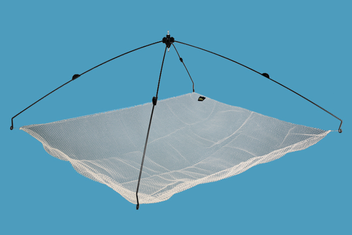 Čeřen Delphin s nylonovou síťkou 100x100cm