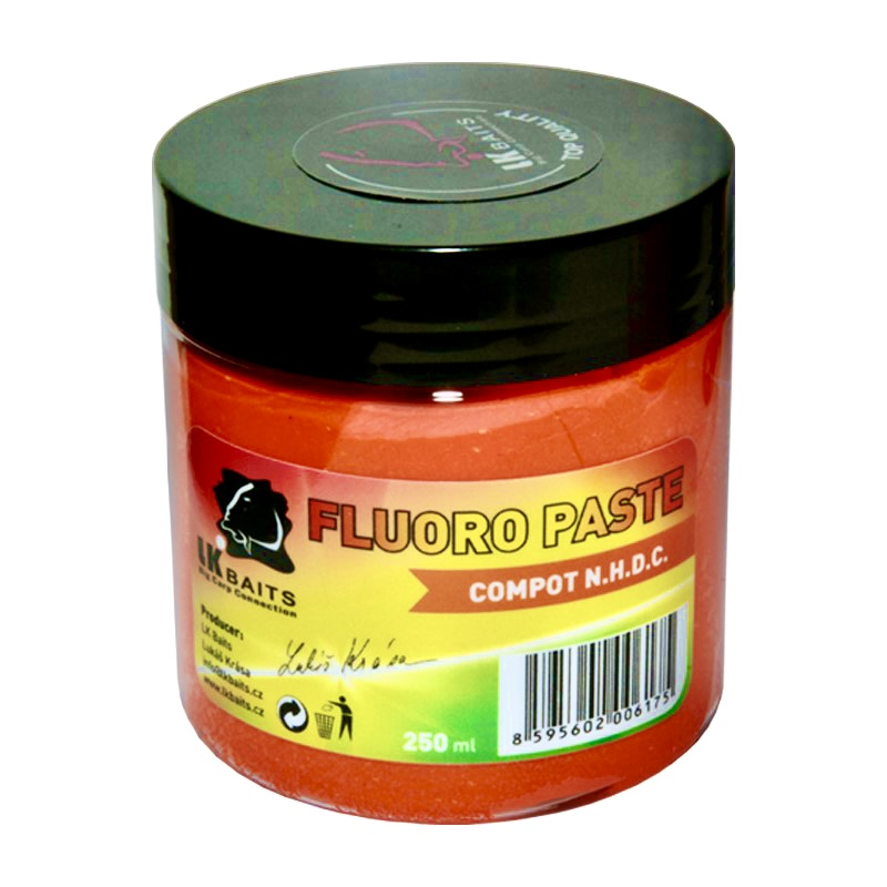 LK Baits Boilie Paste Fluoro Compot N.H.D.C. 250ml