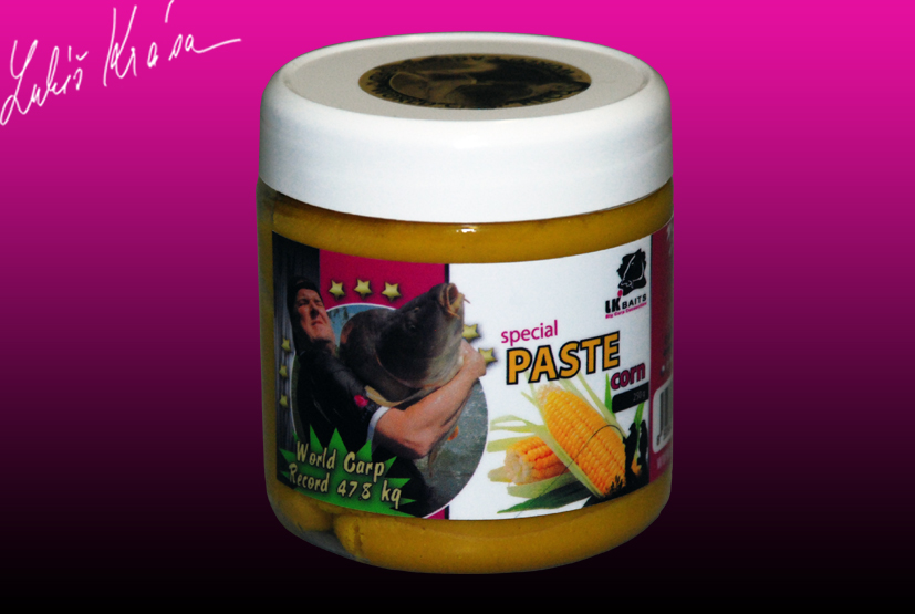 LK Baits World Record Carp Corn paste