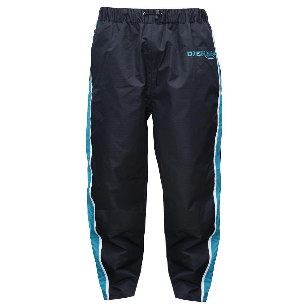 Drennan voděodolné kalhoty 25K Waterproof Trousers Aqua/Black