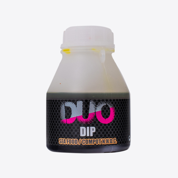 LK Baits DUO X-Tra Dip Sea Food/Compot NHDC 200ml