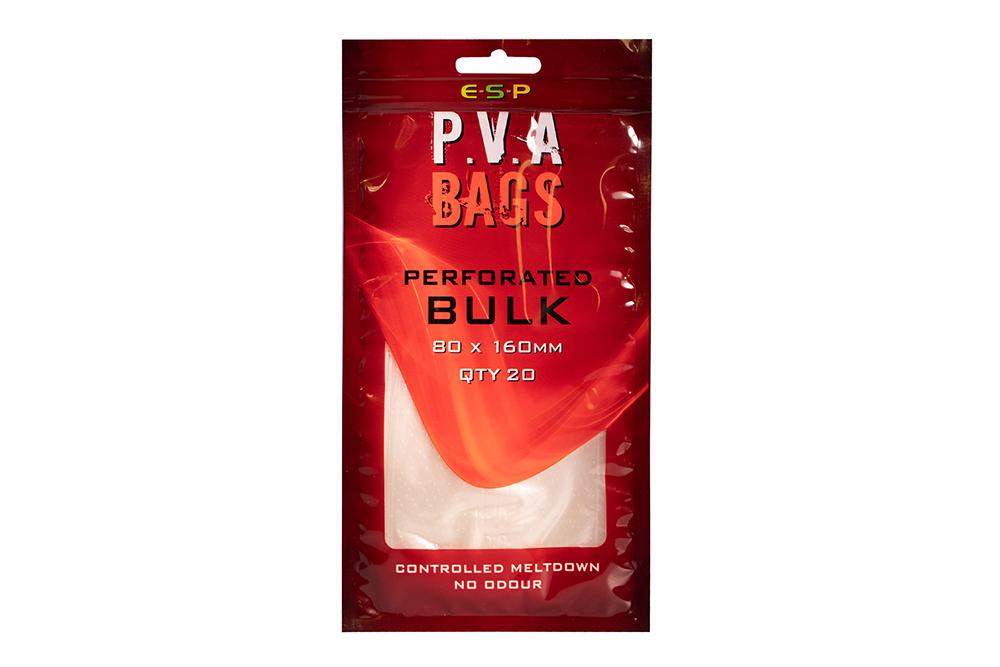 ESP PVA Sáčky - Bulk perforated - 80x160mm, 20ks