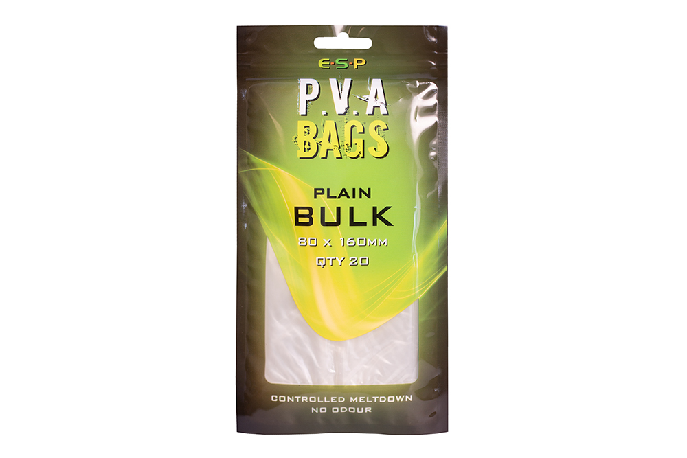 ESP PVA Sáčky - Bulk plain - 80x160mm, 20ks