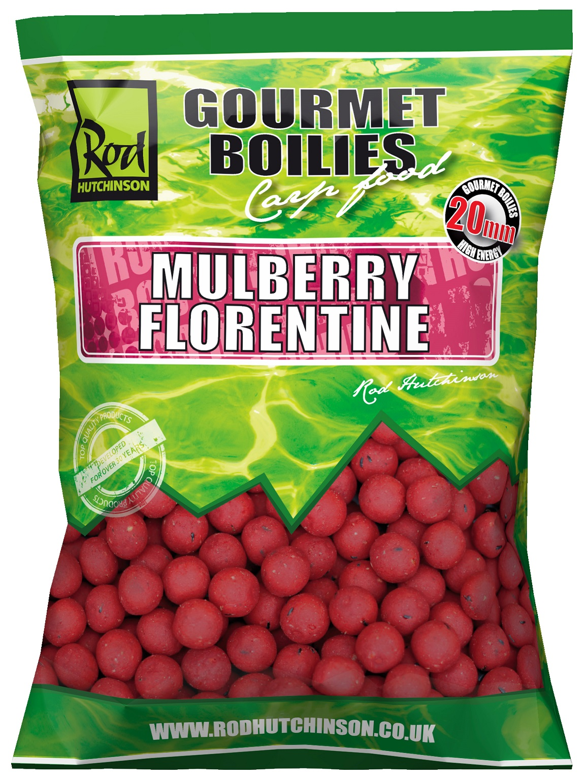 RH Boilies Mulberry Florentine with Protaste Plus  20mm 1kg