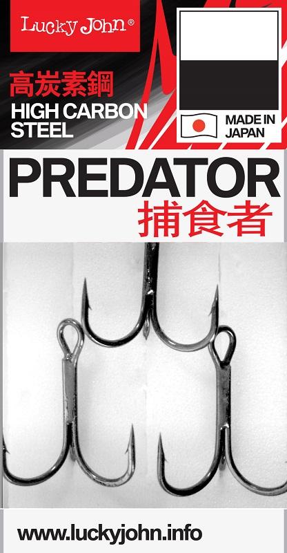 Lucky John trojháčky Predator 234 vel.3/0