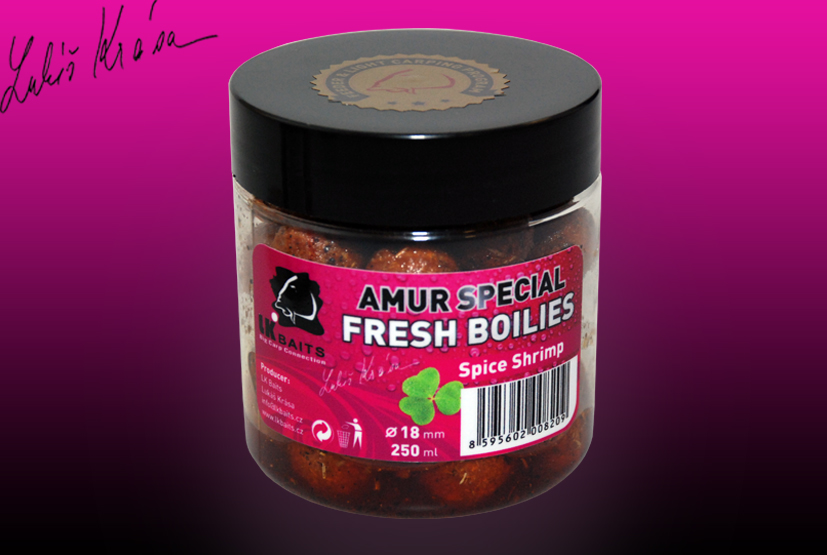FRESH BOILIES Amur special Spice Shrimp 18mm 250ml
