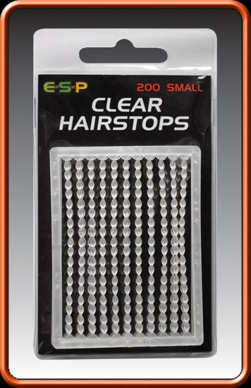 ESP Zarážky - HAIRSTOPS clear mini - 200ks