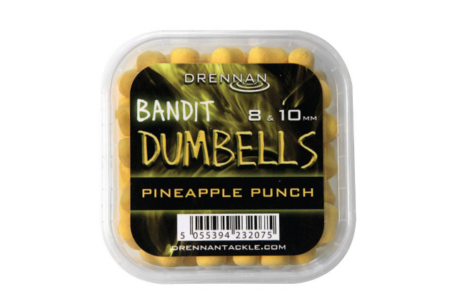 Drennan Bandit Dumbells 8 & 10 mm Pineapple Punch