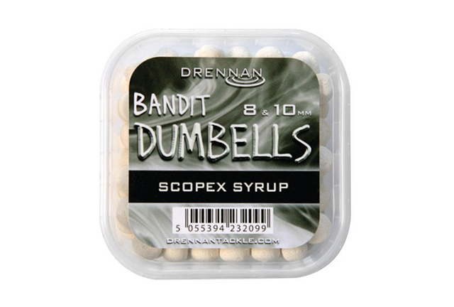 Drennan Bandit Dumbells 8 & 10 mm Scopex Syrup