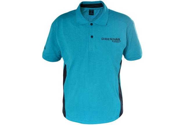 DRENNAN Polokošeľa - Polo Shirt Aqua - vel. L