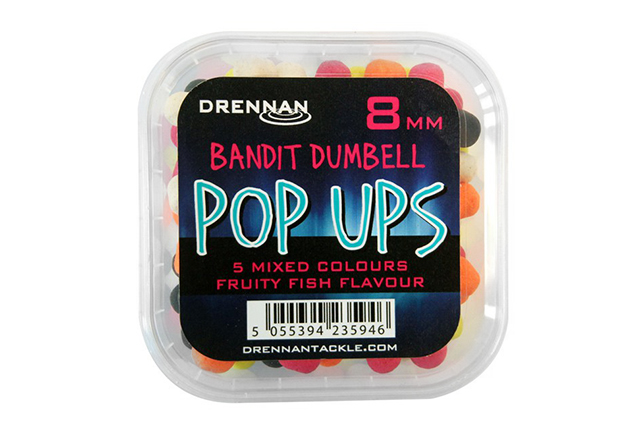 Drennan Bandit Dumbells Pop Ups 8mm