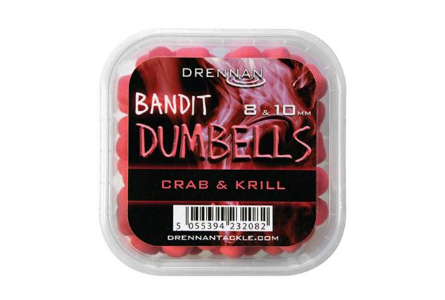 Drennan Bandit Dumbells 8 & 10 mm Crab & Krill