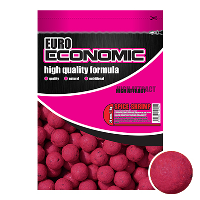 LK Baits Euro Economic Boilie Spice Shrimp 1kg, 20 mm
