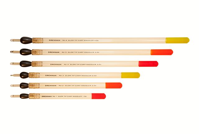 DRENNAN Plavák - Loaded Glow Tip Carp Waggler - 4,0g