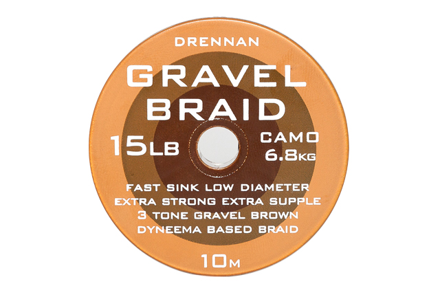 DRENNAN Nadväzcová šnúra - Gravel Braid - 8lb, 10m
