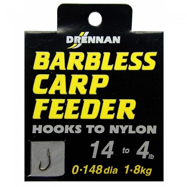 DRENNAN Nadväzec - Barbless Carp Feeder - vel. 8/7lb, 10ks