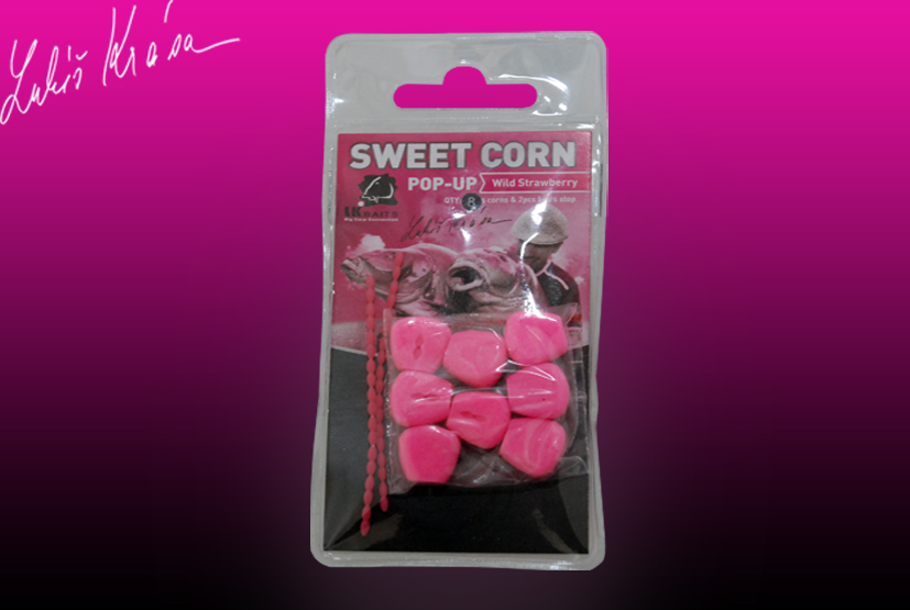 LK Baits Sweet Corn -Wild Strawberry