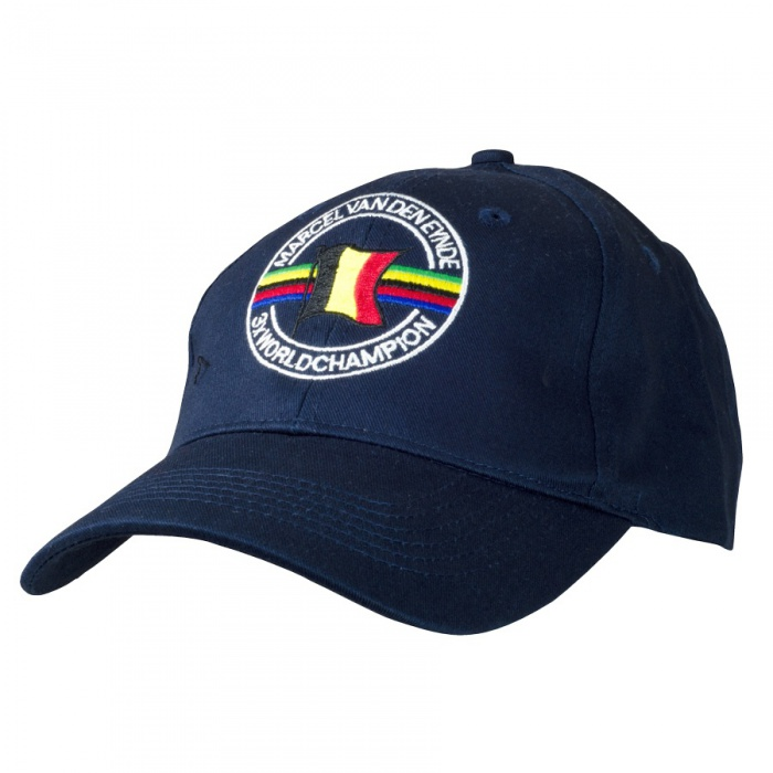 MVDE Kšiltovka Cap Black with logo