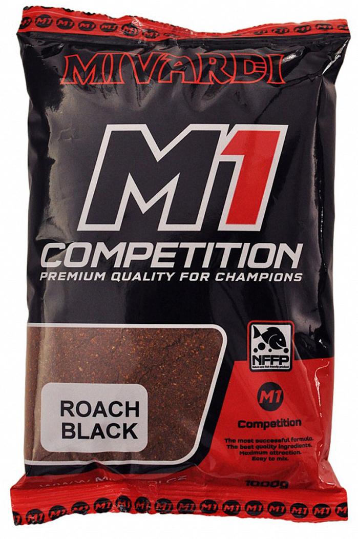 Krmítková směs M1 - Team Mivardi Plotice Černá 1 kg