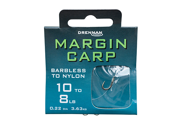 DRENNAN Nadväzec - Margin Carp Barbless - vel. 8, 8ks