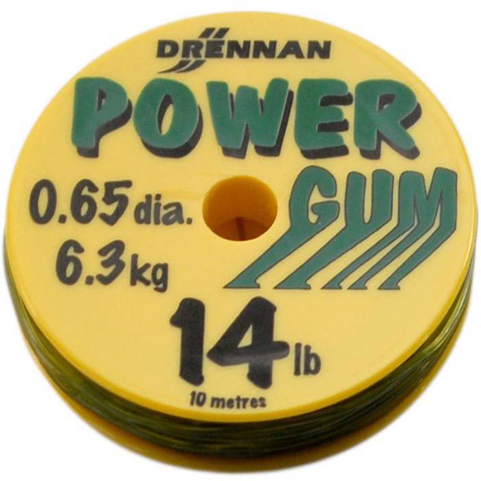 DRENNAN Feederová guma Powergum 14lb / 6,3kg Green