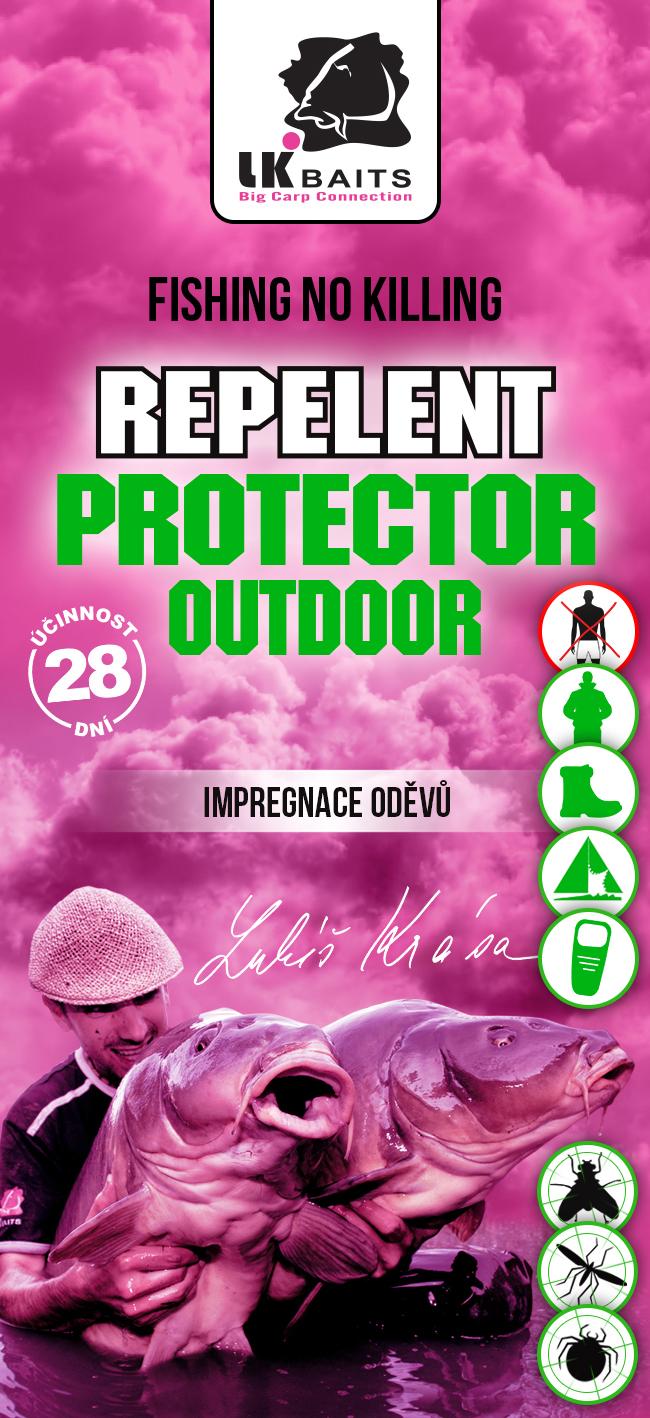 LK BAITS Repelent Protector Outdoor - Impregnácia odevov 90ml