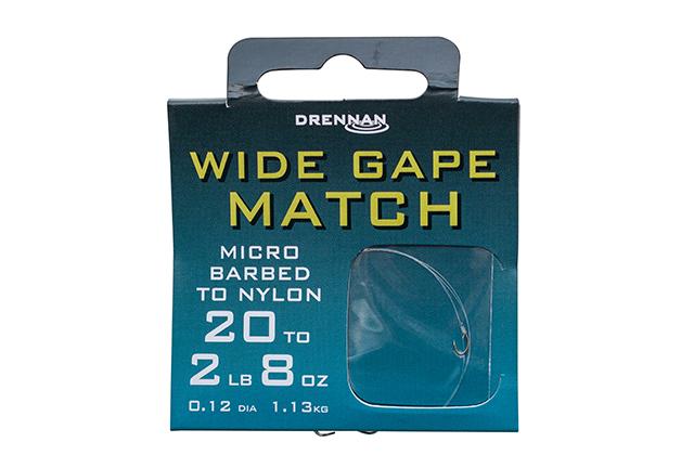 DRENNAN Nadväzec - Wide Gape Match - vel. 16/3lb, 8ks