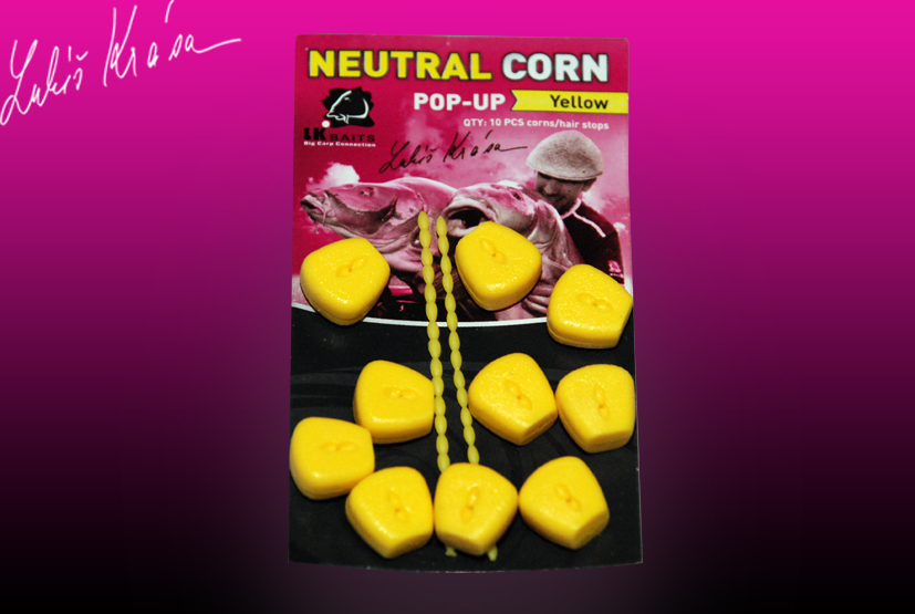 LK Baits Neutral Corn - Yellow