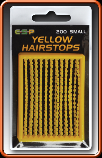 ESP Zarážky - HAIRSTOPS yellow mini - 200ks